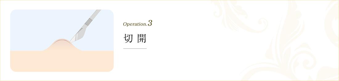 operation.3 開孔